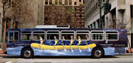 Brendiranje autobusa gradskog prevoza