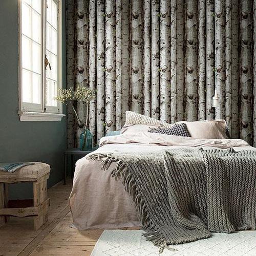 Foto tapete za spavaće sobe breze