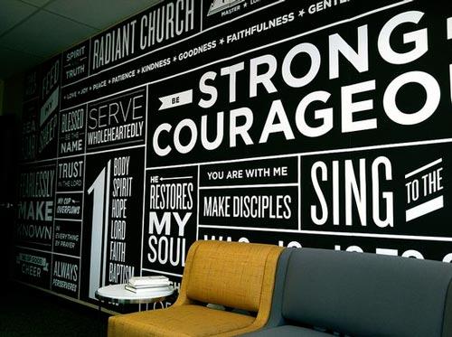Foto tapete citati na zidu