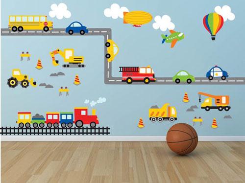 Foto tapete za dečiju sobu