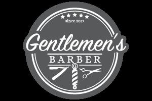 Gentelmen's Barber salon logo