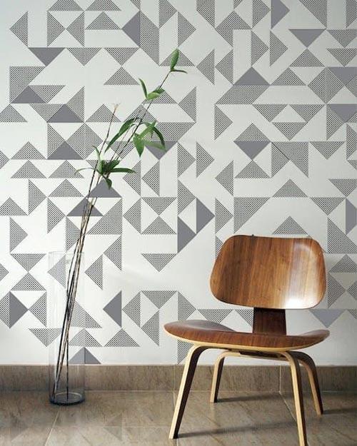 Foto tapete za dnevne sobe geometrijski oblici