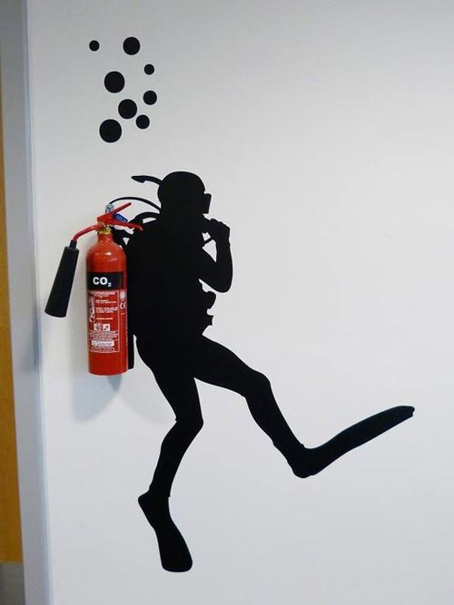 Ideje za foto tapete ronilac protivpožarni aparat