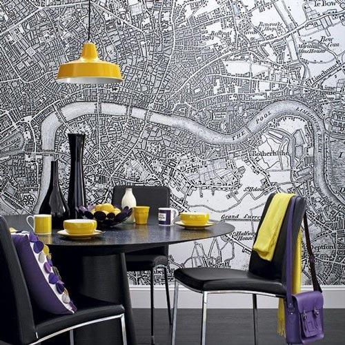 Ideje za foto tapete mapa grada