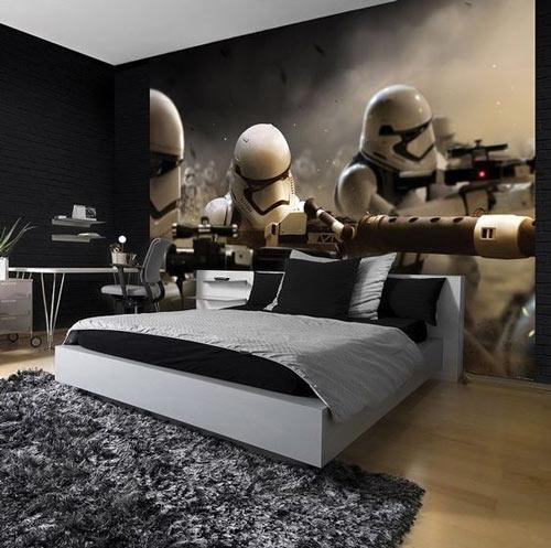 Star Wars foto tapete za dečije sobe