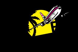 Fly Fly travel logo turističke agencije