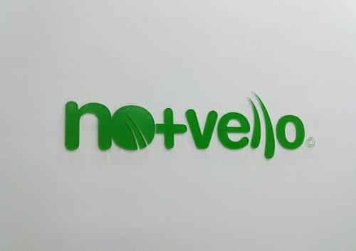 3D slova od klirita Novello