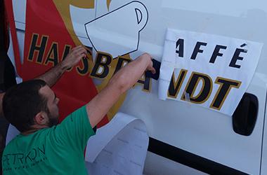 Brendiranje vozila lepljenje folije za auto