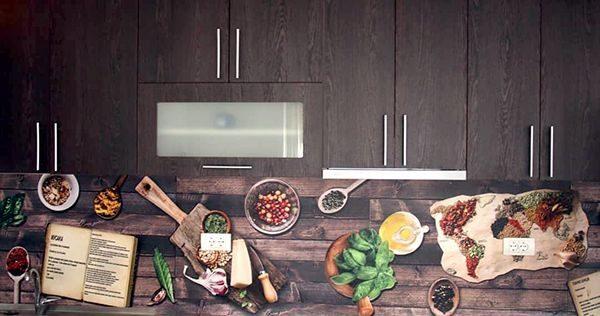 samolepljive tapete za kuhinju motivi pripreme hrane